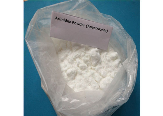 China Pharmaceutical Grade Anabolic Anti Estrogen Steroids Anastrozole Arimidex CAS 120511-73-1 supplier