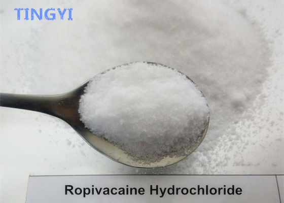 China 99% Local Anesthetic Anodyne Raw Powder Ropivacaine Hydrochloride CAS 132112-35-7 supplier