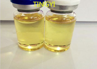 China Light Yellow Anabolic Injection Steroids Trenbolone Hexahydrobenzyl Carbonate 50mg / Ml supplier
