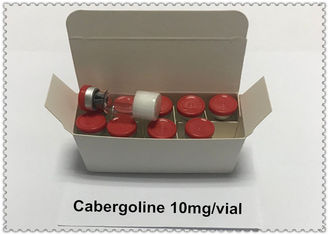 China 10mg/vial Long-acting Dopamine Antagonist 99% Cabergoline / Caber / Dostinex CAS: 81409-90-7 supplier