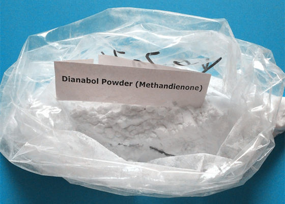 Strongest Injectable Oral Anabolic Steroids Metandienone / Dianabol Powder CAS 72-63-9