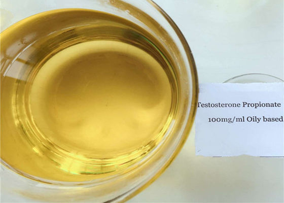 Semi Finished Testosterone Propionate Steroid Injection Yellow Liquid Oil CAS 57-85-2