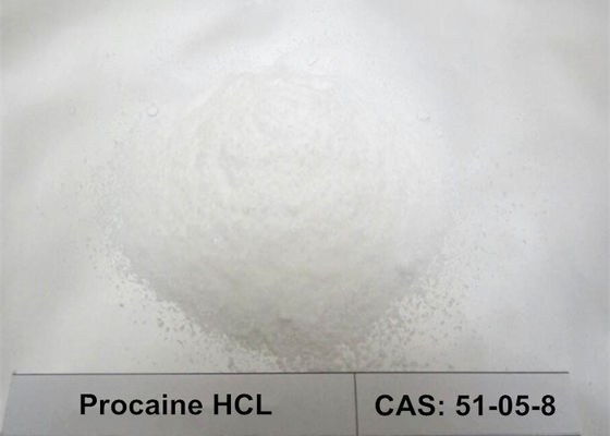 BP2005 99.87% High Assay Local Anesthetic Powder , Procaine Hydrochloride HCL Powder