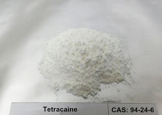 99% Tetracaine Powder CAS 94-24-6 For Ophthalmology / Antipruritic / Spinal Anesthesia