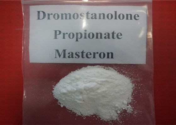 China High Purity White Powder Drostanolone Propionate / Masteron  CAS: 521-12-0 Helping Muscle Shaping factory