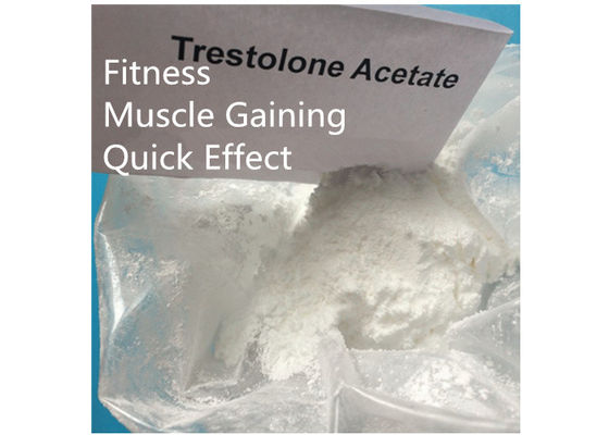 China Trestolone Acetate 6157-87-5 Muscle Building Strong Effects USP Standard factory