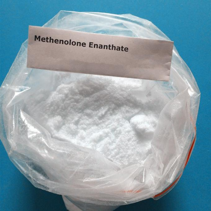 99.1% High Purity Injectable Anabolic Steroid Methenolone Enanthate Powder / Primobolan Depot